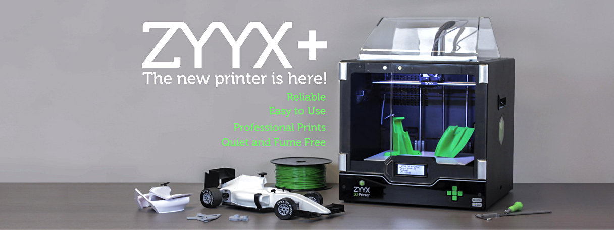 ZYYX+ 3dprinter the new one