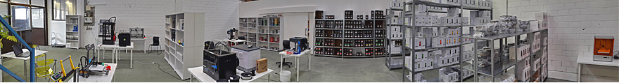 new showroom from 3d-printerstore.ch