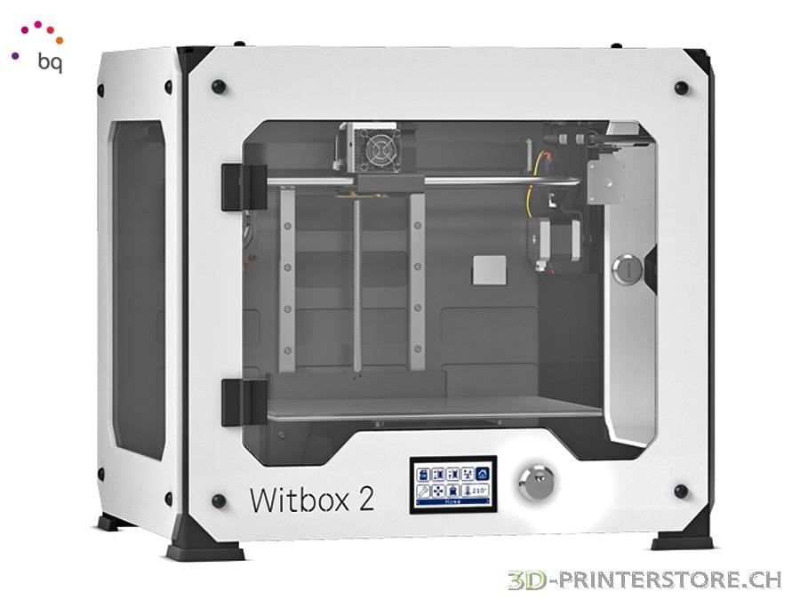 bq witbox 2 white die neue generation der witbox 3d. Black Bedroom Furniture Sets. Home Design Ideas