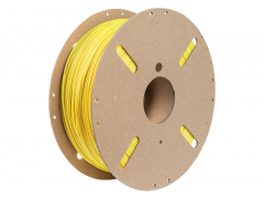 PLA Soft 3d Filament yellow 1.75mm 1kg