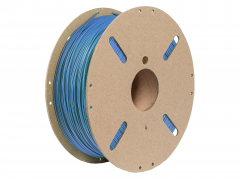 PLA Soft 3d Filament blue 2.85mm 1kg