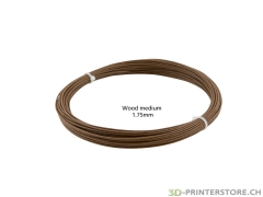 Wood ProFill PLA Filament medium 1.75 Sample 50gr.