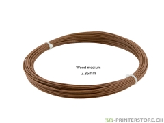 Wood ProFill PLA Filament medium 2.85 Sample 50gr.