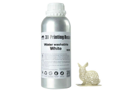 Wanhao 3D UV Resin water washable- 1l - white