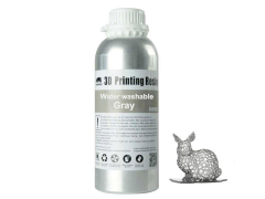 Wanhao 3D UV Resin water washable- 1l - grey