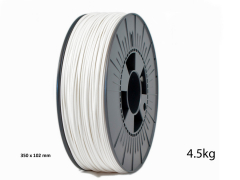 PLA Pro Filament 1.75mm white 4.5kg
