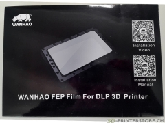 WANHAO FEP 0.15mm Film Duplicator 7