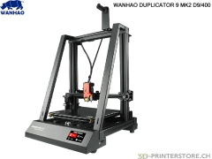 WANHAO Duplicator 9/400 Mark II - mounted - like new!